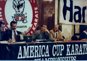 Shihan Pascetta Promoter & Color Commentator @ 1985 America Cup Championships