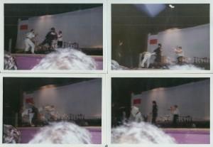 Sequenza fotografica - Pascetta Vs Meneghini, Arena Corallo Sottomarina 4 Giugno 1977
